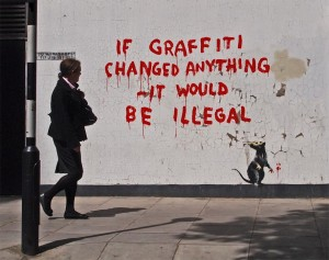 banksy-if-graffiti-changed-anything-it-would-be-illegal