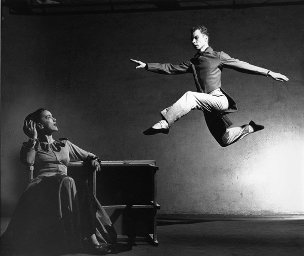Merce-Cunningham Martha Graham
