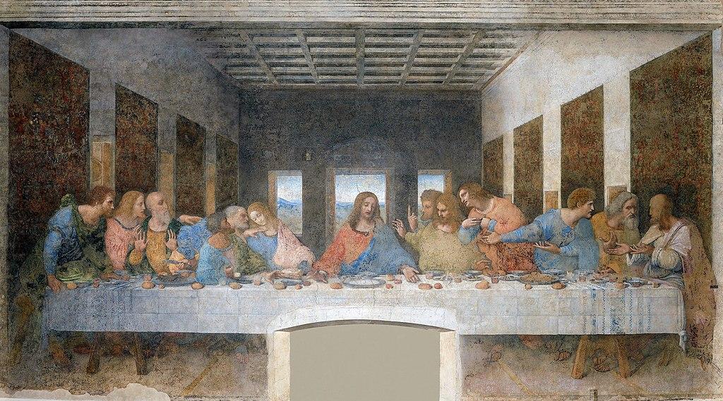 Αυτή η εικόνα δεν έχει ιδιότητα alt. Το όνομα του αρχείου είναι 1024px-Last_Supper_by_Leonardo_da_Vinci-1.jpg